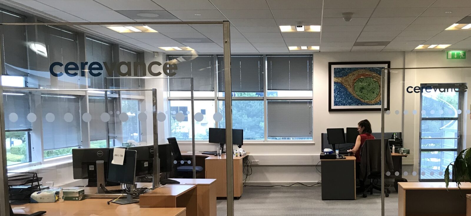 Cerevance adapts Cambridge Science Park office to safeguard against Covid-19 with help from COEL