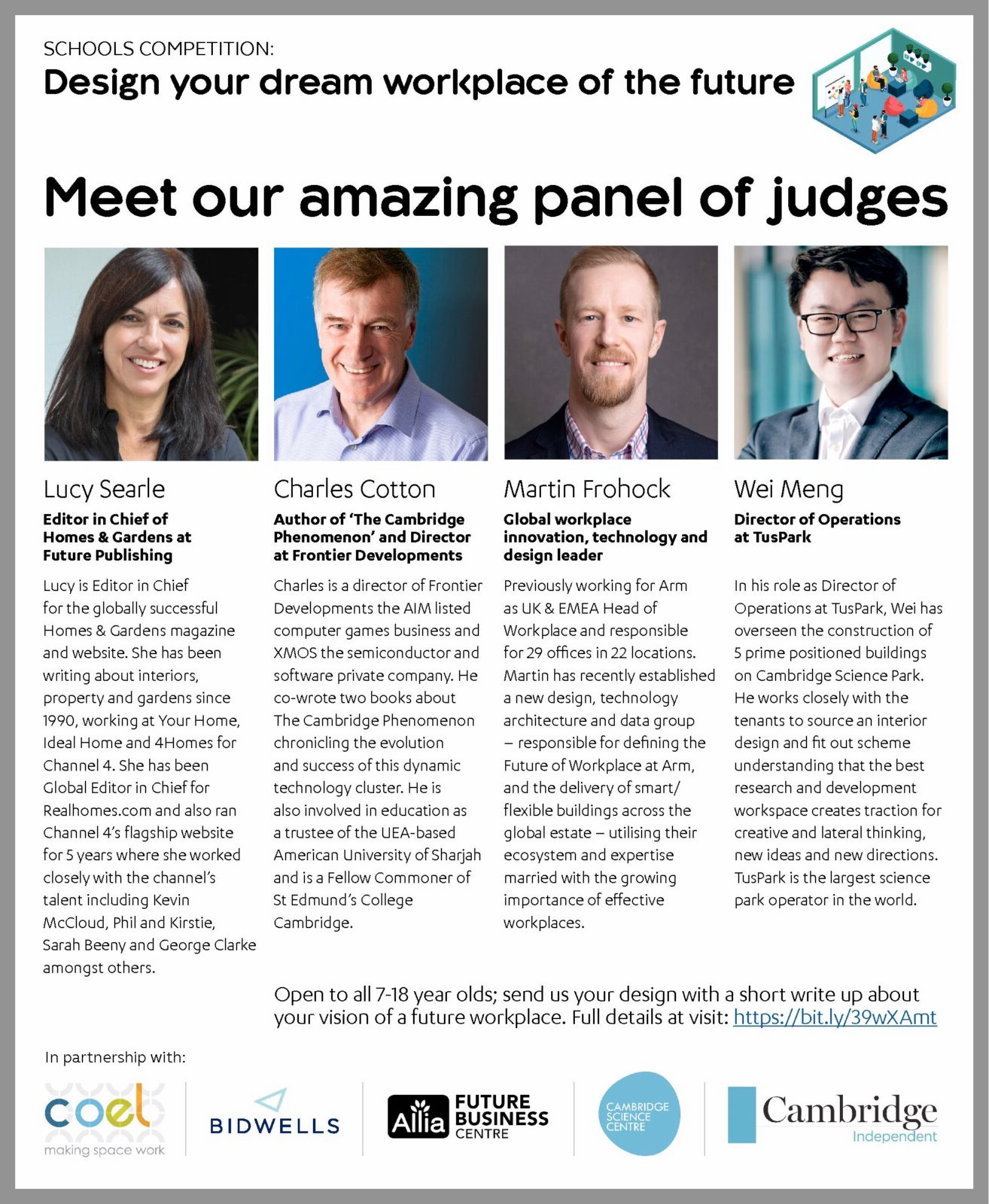 Stellar Panel of Judges for the Future Workplace Competition